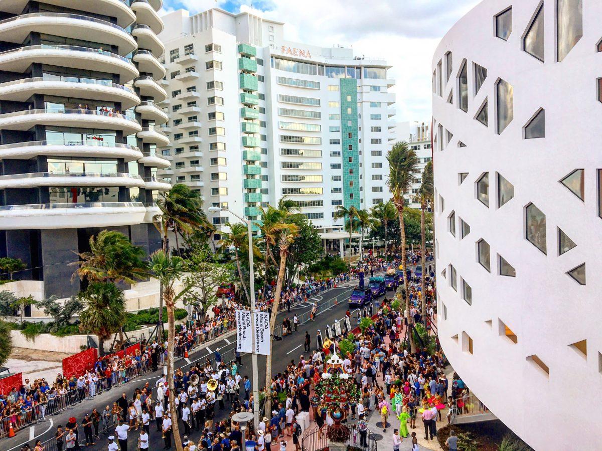 faena forum opening miami beach