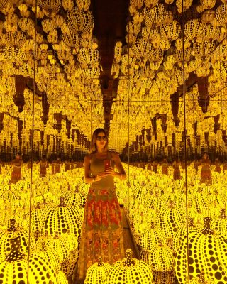 "Yayoi Kusama ""All the Eternal Love I have for Pumpkins"""